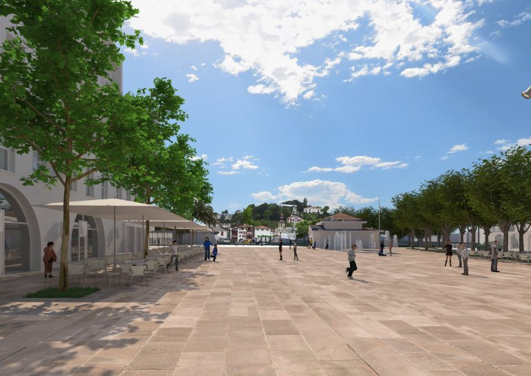 "Project management assistance for the urban development of the ""Foch"" square in St. Jean de Luz (64)"